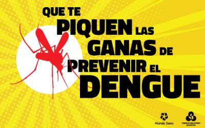 """El CPA y Mundo Sano presentan la segunda etapa de la campaña """"Que te piquen las ganas de prevenir el dengue"""""""
